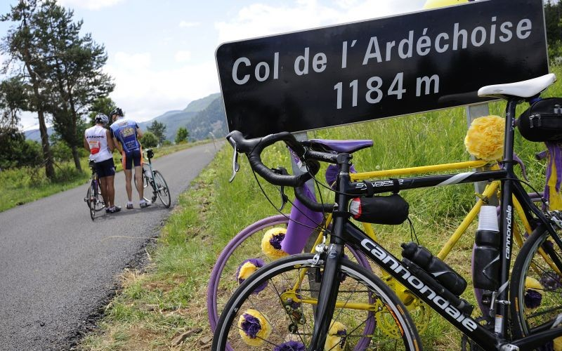 Course cyclotouriste l'Ardéchoise
